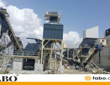 Fabo STATIONARY TYPE 500 T/H CRUSHING & SCREENING PLANT