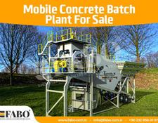 Fabo 60m3/h NEW GENERATION MOBILE CONCRETE PLANT