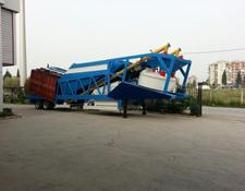 Fabo TURBOMIX-60 MOBILE CONCRETE PLANT WITH PRE-FEEDING SYSTEM