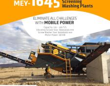 Fabo MEY 1230 TPH MOBILE SAND SCREENING & WASHING PLANT