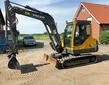 Volvo EC 55 B Pro Bj 2007 5,6 To 1A Zustand Bagger Minibagger
