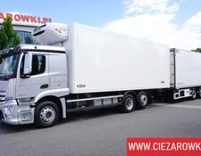 Mercedes-Benz Actros 2543 , 50k km ! , E6 , 6x2 , lift/steering axle , 18 EPAL