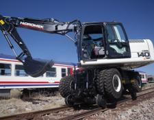 GALEN rail excavator ALL RAILWAY ATTACHMENTS